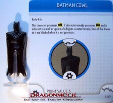 Heroclix no mans país s107 Batman Cowl