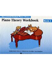 Hal Leonard Student Piano Library Theory Workbook Learn to Play MUSIC BOOK 1