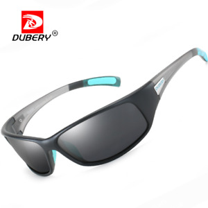 DUBERY Polarized Sport Sunglasses For Men UV400 Outdoor Driving Cycling Glasses