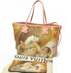 LOUIS VUITTON Masters Tote Bag Neverfull MM Fraconard M43319 Auth New w Pouch LV