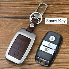 3 Button Key Bag Ring Fob Box Case For KIA K3 K4 K5 KX3 K3S KX5 Sportage Sorento