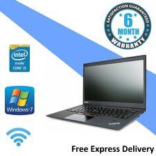 Lenovo X1 Carbon - Windows 7 Laptop - i5-3427U | 8GB | 128GB SSD - GRADE B