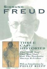 """New listing Three Case Histories : The """"Wolf Man"""", the """"Rat Man"""", and the Psychotic."""