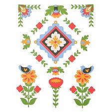 Sizzix Thinlits Die Set 18pk Folk Art Elements 663607