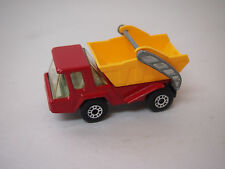 1976 Lesney Products & Co - Matchbox Superfast No.37 Skip Truck Made in England