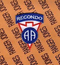 US Army 82nd Airborne RECONDO school Graduate pocket patch B