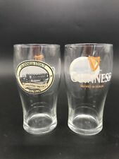 Two Guinness Stout Delivery Truck 1759 Draught Pint Beer Glass Dublin Ireland