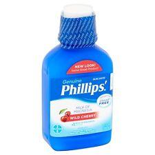 Phillips' Genuine Milk of Magnesia Wild Cherry Saline Laxative Liquid, 26 fl oz