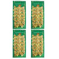 48-120 Mini Schleifen gold Weihnachten Weihnachtsschleifen Christbaum 5cm