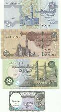LOTE 4 BILLETES EGIPTO