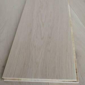 "10"" Invisible Finish Engineered Oak Flooring - Long Floorboards - Natural EC26"