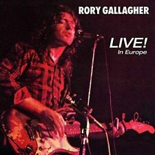 Live! In Europe by Rory Gallagher (Vinyl, Mar-2018, Universal)