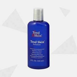 Tend Skin Solution for ingrown hair razor bumps and redness 4oz (118ml)
