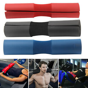 Weight Lifting Barbell Pad Squat Bar Powerlifting Neck Shoulder Back Support Gym
