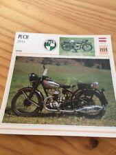 PUCH 250 S4 1935 Karte Motorrad Sammlung Atlas Österreich