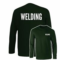 Welding T-Shirt, Work Wear, Industrial Office Uniform Longsleeve Top