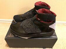 Nike Air Jordan 20 XX Stealth OG men's sz 15 Black Varsity Red 310455-002