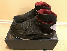 97f3be4aa89b Nike Air Jordan 20 XX Stealth OG men s sz 15 Black Varsity Red 310455-002
