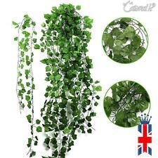 77ft Artificial grape Ivy vine faux Decoration Leaf Garland Plants Christmas