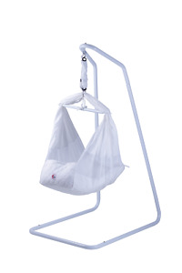 mamakiddies Baby Hammock Cot Bassinet Cotton with Stand & Mattress carry bag