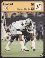 HARVEY MARTIN Dallas Cowboys Football Photo 1978 SPORTSCASTER CARD 39-22