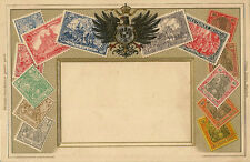 STAMP  CARD-GERMANY : Embossed -ZIEHER