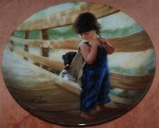 Donald Zolan Ltd Ed Plate: ALMOST HOME - Boy/Dog