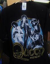 Queen, In Concert, Black T-Shirt (Men's Large), Brand New Sealed