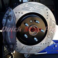 CHE003CP Camaro SS Logo 2010-2015 Performance Brake Rotors Custom SS Logo w/ Pad