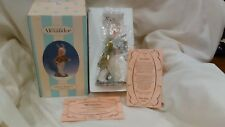 Collectible Madame Alexander White Rabbit Figurine From Alexander Doll 2001 hd20