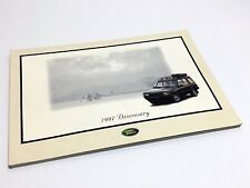 1997 Land Rover Discovery Brochure