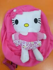 Jiestine🌻Kitty printed skirt stuff toy mini backpack party needs birthday gift
