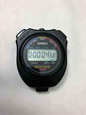 OLD MODEL CASIO DIGITAL STOPWATCH HS-5 SPLIT LAP