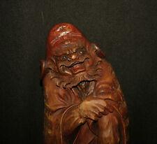 Curiosa shunga erotic sculpture Japan  erotique Shoki the demon killer phallus
