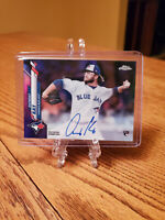 Anthony Kay 2020 Topps Chrome Refractor 154/250 Auto Rookie RC Blue Jays RA-AK