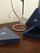 SWAROVSKI Crystal 2009 Large Snowflake Star HOLIDAY Ornament Mint/ NIB Authentic
