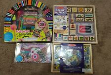 Lot Of 4 Melissa and Doug & Alex Stamp, Bracelet Maker, Beads