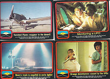1978 Columbia Close Encounters of the Third Kind 66 Card Set + 11 Stickers