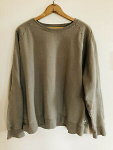 Gramicci Men's Sz XL Hemp & Organic Cotton Brown Casual Sweatshirt