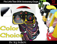 Replacement Stickers Fits Little Tikes custom cozy coupe 30th Anniverary car