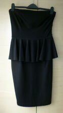 BNWT, SMART BLACK, STRAPLESS DRESS BY STELLA McCARTNEY - 42 (ABOUT UK 10)