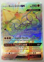 POKEMON - Buzzwole GX 115/111 - Holo Secret - Invasione Scarlatta - ITALIANO