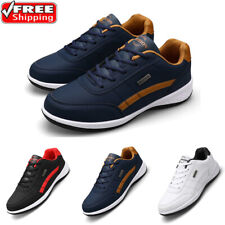 Mens Casual Tennis Shoes Lightweight Outdoor Sports Running Walking Sneakers