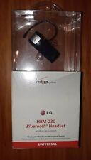 LG HBM-230 Bluetooth Universal Headset, NEW IN BOX!