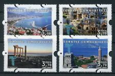 Turkey 2017 MNH Antalya 4v Set Architecture Tourism Stamps