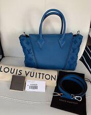 Rare! Louis Vuitton W BB Tote Crossbody Shoulder Handbag - Completely Reglazed!