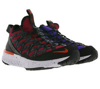 NIKE ACG React Terra Gobe Sport-Sneaker Herren Trainings-Schuhe Schwarz/Rot/Lila