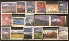 Mt.Fuji World Heritage Japan Commemorative Stamps Assortment #6F-2019
