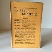La Revista de La Siglo N º 3 , Tomo I, 1er Mai 1925