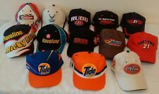 13 Ricky Rudd Nascar Pit Hat Cap Lot Chase Tide Texaco Air Force Rent Center #21